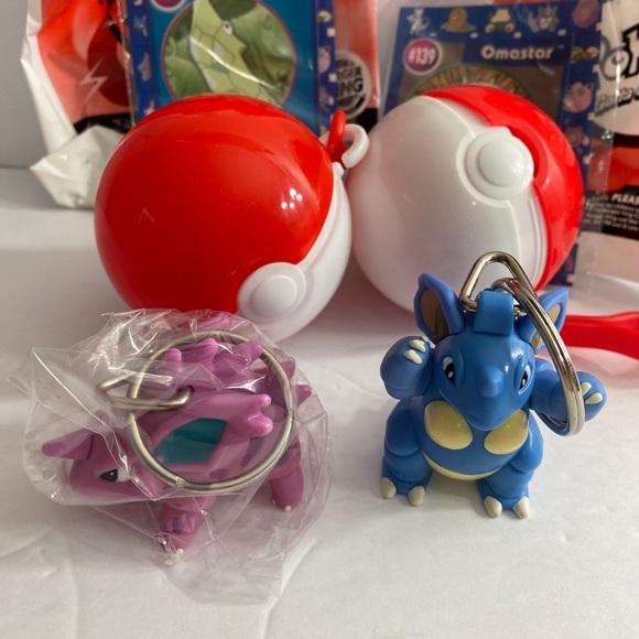 VTG Burger King Pokemon ToysNidorino & Nidoqueen